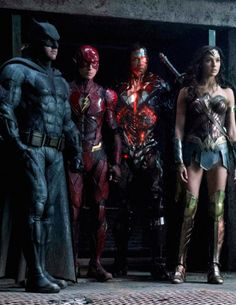 New Justice League still from Empire magazine