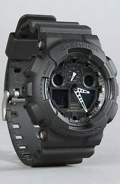 G-Shock GA-100-1A1 Big Combi Military Series Watch.  I love masculine and military style watches!