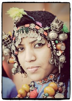 Africa | Woman from the High Atlas region of Morocco | © William Stevens