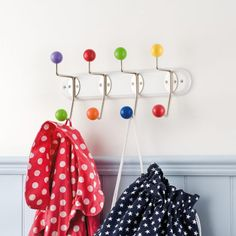 Rainbow Coat Rack - Coat Hooks - Bedding & Room Accessories - gltc.co.uk