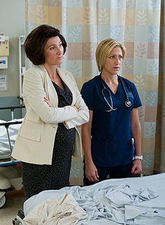 Dr. O'Hara & Jackie - Nurse Jackie