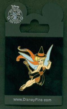 Disney Pin Tinker Bell Witch Disneyland Paris Halloween   eBay