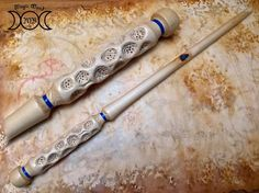 Wood magic wands shop, wiccan, cosplay and Sculptures by BacchettemagicheMB