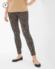 Chico's Women's Zenergy So Slimming Petite Printed Leggings