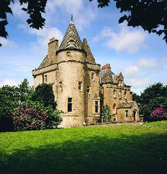 Love to visit this castle in Scotland.  It's a hotel.