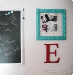DIY instagram photo frame