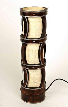 Lámpara de mesa de bambú muebles de bambú bambú por bamboobg