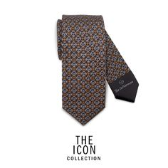 The Gentleman Driver is the icon of his time and of all time and requires an equally iconic style to represent him. A creative packaging with a driving essence allows each product to be the most exclusive gift for every occasion. Color: black/grey   Fabric: 100% twill silk, 18 momi  Width: 7 cm  MADE IN ITALY  ID: TIC302