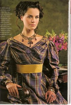 Tasha Tudor's vintage dress collection; photos courtesy Victoria magazine Dec. 2007