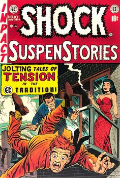 Shock SuspenStories (Aug-Sep EC) for sale online Crime Comics, Sci Fi Comics, Fantasy Comics, Horror Comics, Horror Art, Comic Book Covers, Comic Books Art, Comic Art, Book Art