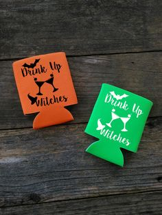 Hey, I found this really awesome Etsy listing at https://www.etsy.com/listing/459800584/halloween-can-cooler-witch-can-cooler