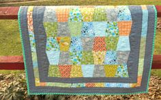 modest creations by michelle: modern boy tumbler quilt