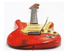 1961 Fender Stratocaster in Fiesta Red