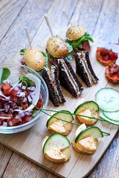 mini-bouchéesBruschetta Tomates Fraiches et Confites