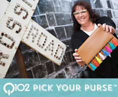 Rebecca Minkoff - Sofia Clutch. Go to wkrq.com to find out how to play Q102's Pick Your Purse!