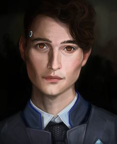 Detroit: Become Human - Connor by oschu-lile