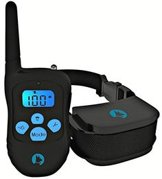 Bark Solution  Rechargeable and Rainproof 330 yd Remote Dog Training Ecollar with BeepVibrationShock Electric Collar ** See this great product.