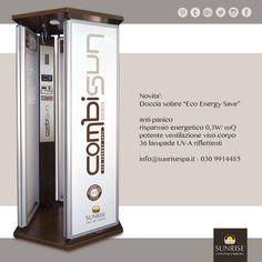 Novità per il tuo centro estetico   solarium eco energy save ➡ #Combisun 🔷Risparmio energetico 0,3 W/mQ 🔷Antipanico 🔷Potente ventilazione viso e corpo • • •  Info: 030 9914485 - info@sunrisespa.it
