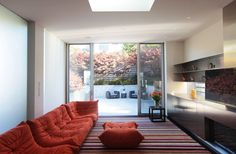 Togo by Michel Ducaroy. Luxury home in Cow Hollow /San Francisco. Live Beautifully! www.lignrosetsf.com