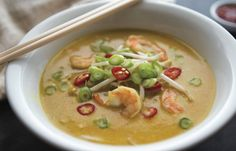 You searched for laksa - skinnymixers Coconut Cream Chicken, Laksa Recipe, Thermomix Soup, Curry Laksa, My Favorite Food, Favorite Recipes, Bellini Recipe, Weight Watchers Soup, Coconut Curry Soup