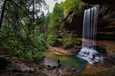 Truly a hidden gem, this trail seems to get little to no attention, yet is absolutely amazing. To get to the trail from I-40 near Crossville, Tennessee, take Highway 127 north toward Jamestown.