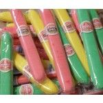 When I was a kid they were called bubble gum cigars. As an adult I had these in my candy store but they were called Big Chief bubble gum.