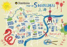 ReignDesign map of Shanghai
