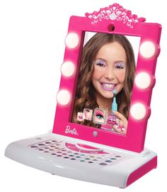 The Totally Awesome Barbie Digital Makeover Mirror for Girls! The Totally Awesome Barbie Digital Makeover Mirror for Girls! Birthday Presents For Girls, Gifts For Girls, Girl Gifts, Birthday Gifts, 10 Birthday, Birthday Parties, Christmas Toys, Christmas Wishes, Toys For Boys