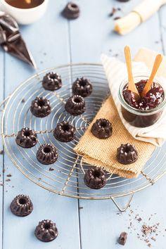 Petits chocolats fourrés à la confiture de framboises - edélices.com