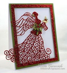KC Creative Expressions Christmas Angel 1 left