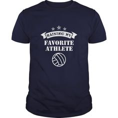 Raising My Favorite Athlete Volley Ball Great Gift For Any  Volley Ball Mom Or Dad, Just get yours HERE ==> https://www.sunfrog.com/Sports/Raising-My-Favorite-Athlete-Volley-Ball-Great-Gift-For-Any-Volley-Ball-Mom-Or-Dad-Navy-Blue-Guys.html?id=41088 #christmasgifts #xmasgifts #volleyball #volleyballlovers