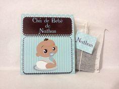 Convite Chá de Bebê - Fraldas | Cute Lembranças | 2881BF - Elo7