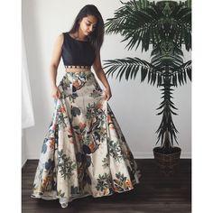 Details about Indian Lehenga Choli Floral Print Skirt Womens Ethnic Wedding Dance Party Wear – Style Tips Indian Attire, Indian Wear, Indian Party Wear, Indian Style, Red Indian, Indian Designer Outfits, Designer Dresses, Designer Sarees, Indian Gowns Dresses