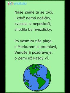 Save The Planet, Earth Day, Global Warming, Holidays And Events, Kids And Parenting, Preschool, Classroom, Songs, Teaching