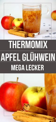 In this recipe I explain to you how you can conjure up a mega delicious mulled wine from just a few ingredients. I made the apple mulled wine with the Thermomix from Vorwerk. The post Apple mulled wine dieHexenküche. Drinks Alcohol Recipes, Non Alcoholic Drinks, Cocktail Recipes, Wine Recipes, Fall Cake Recipes, Strawberry Cake Recipes, Cocktails Vin, Cake Vegan, Fall Cakes