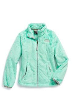 The North Face 'Osolita' Jacket (Big Girls) North Face Girls, The North Face, Hooded Jacket, Little Girls, Nordstrom, Cozy, Sweatshirts, Jackets, Clothes