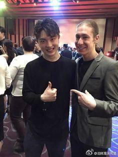 Han Yan(China) and Jason Brown(USA)