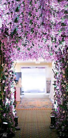 <3 <3 ADD diy www.customweddingprintables.com #customweddingprintables... Wedding ● Floral Arch ● Lavendar