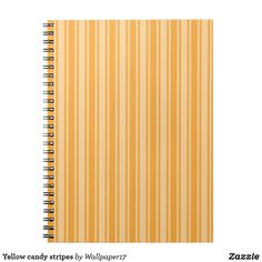 Shop Yellow candy stripes notebook created by Personalize it with photos & text or purchase as is! Plywood Furniture, Modern Furniture, Furniture Design, Yellow Candy, Chair Design, Design Design, Candy Stripes, Contemporary Area Rugs, Custom Notebooks