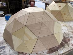 Geodesic Dollhouse #DIY #onefortythree.com