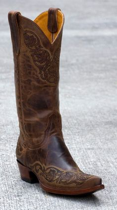 If I were to wear cowboy boots, these would be them.    Womens Old Gringo Viridiana Boots Rust #L282-1