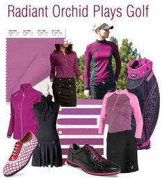 Radiant Orchid hits the golf course - Golf Girl's Diary