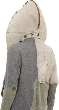 """""""Deconstructed Nomad Coat"""" by Greg Lauren."""