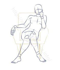 drawing poses - Drawing Tips Drawing Body Poses, Body Reference Drawing, Drawing Reference Poses, Anatomy Reference, Drawing Tips, Drawing Couple Poses, Sitting Pose Reference, Female Pose Reference, Drawing Tutorials