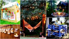 32 smart diy ways to prepare your backyard for entertaining have been showcased underneath, these are crafts meant to encourage you take the most of your backyard already filled with greenery; you can use this simple beautiful elements for festive entertaining or for rest, it is all to you; cast a glance at the gallery below and pick your favorite projects.