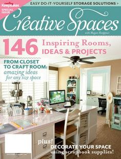 Stacy Cohen: Time for Another Giveaway -- CK's Creative Spaces Special Issue