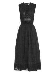 Zimmermann Trinity Broderie cotton-blend dress