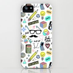 Geeky Chic iPhone & iPod Case by Kristin Nohe - $35.00
