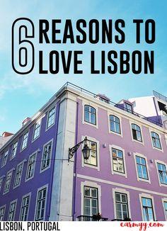 6 Reasons to Love Lisbon, Portugal! www.carmyy.com  via @runcarmyrun