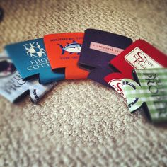 You can never have too many koozies.
